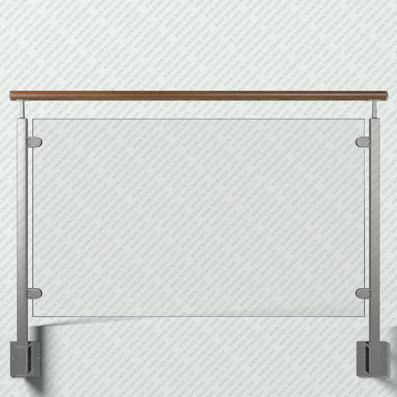 garde-corps inox et bois verre plein modele tendance-inox GCVABRLDR