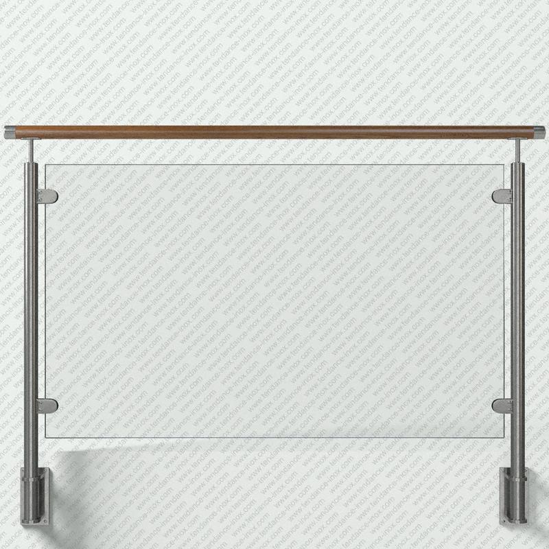 garde-corps inox et bois verre plein modele tendance-inox VACBLDR