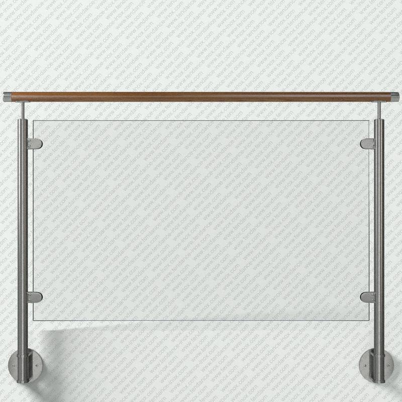 garde-corps inox et bois verre plein modele tendance-inox VARBLDR