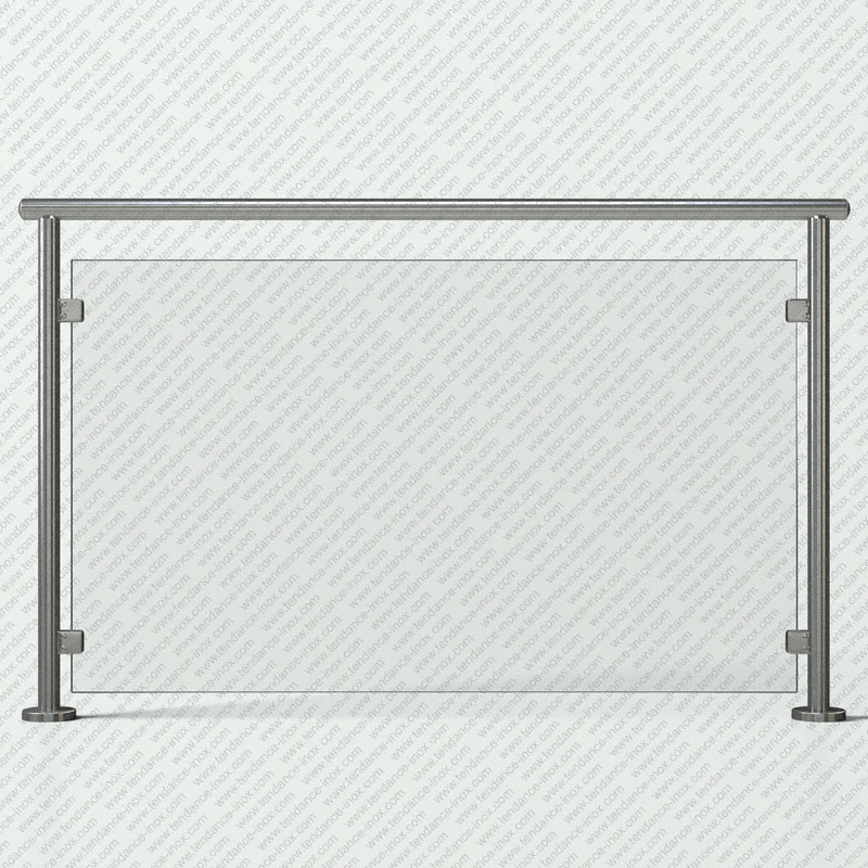 garde-corps inox verre plein modele tendance-inox VFICC