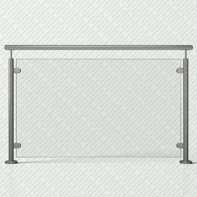 garde-corps inox verre plein modele tendance-inox VFILDR