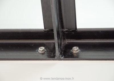 Garde-corps-Inox-sur-mesure-cable-verre-Plancher dalle de verre_tendance-inox-14