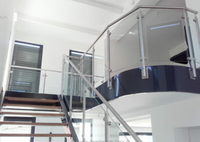 Balustrade inox sur mesure