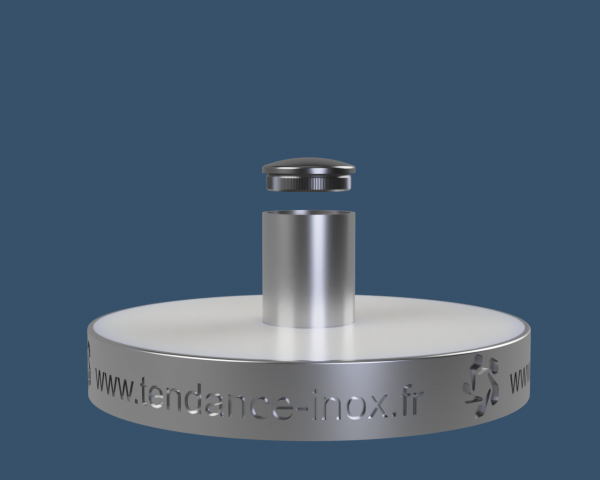 embout inox tube rond